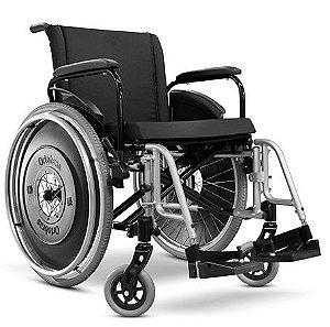 Cadeira de rodas ULX L 60 X P 50 X A 50 - Preta - 160 kg