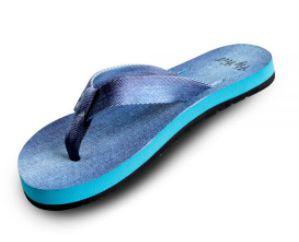 Sandalia Fly Feet Jeans feminina 37/38