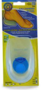 Calcanheira Siligel para Esporão com Ponto Azul - P