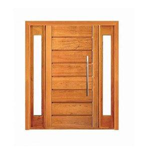 Porta Pivotante Horizontal Visor Lateral Duplo 2,10x2,00m