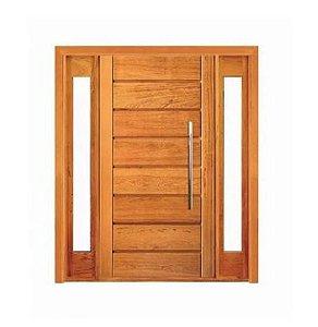 Porta Pivotante Horizontal Visor Lateral Duplo