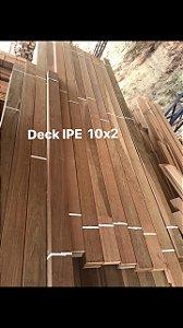 Deck IPE Rajado 10x2cm  m2