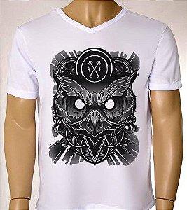 Camisetas Masculinas Coruja