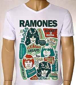 Camisetas Masculinas Ramones
