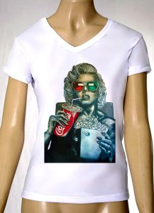 Camisetas Femininas Marilyn Monroe