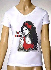 Camisetas Femininas Amy Winehouse