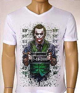 Camisetas Masculinas Coringa