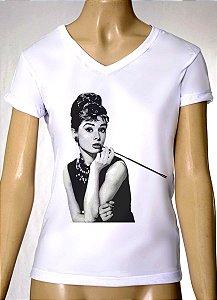 Camisetas Femininas Audrey Hepburn