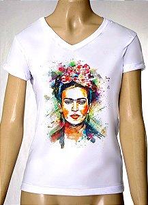 Camisetas Femininas Frida Kahlo