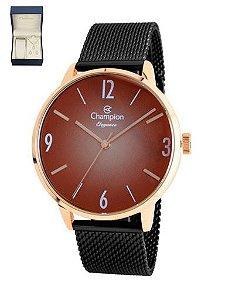 Kit Relógio Champion CN20838P Feminino