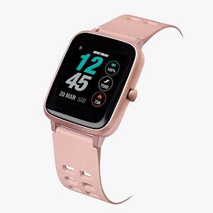 Relógio Smartwatch Mormaii Rosa Molife AA/8J Unissex