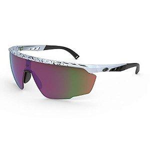 Óculos de Sol Mormaii Leap Branco Brilho Lente Violeta