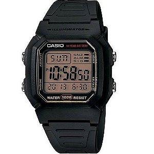 Relógio Casio Standard Masculino - W-800HG-9AVDF