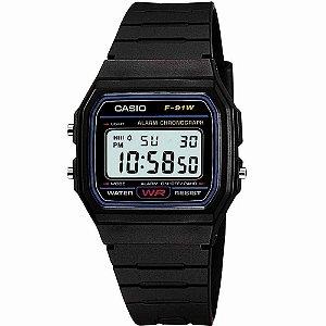 Relógio Casio Standard Unissex - F-91W-1DG