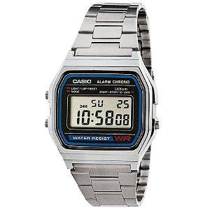 Relógio Casio Vintage Unissex - A158WA-1DF