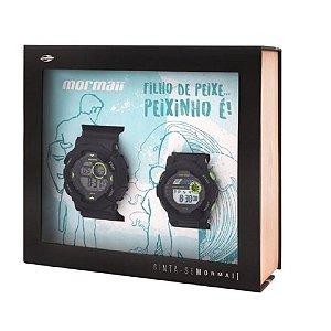 Kit 2 Relógios Mormaii Pai e Filho Masculino - MO3415/8C