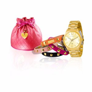 Kit Relógio Lince Feminino - LRG4250L K061