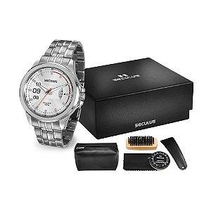 Kit Relógio Seculus Masculino - 28671G0SVAN2