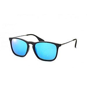 Óculos de Sol Ray-Ban Masculino - RB4187L CHRIS 622/55