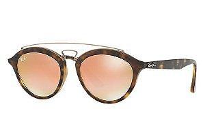 Óculos de Sol Ray-Ban New Gatsby Oval Feminino - RB4257 6092/2Y