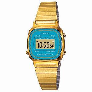 Relógio Casio Vintage LA670WGA-2DF Feminino