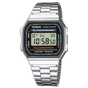 Relógio Casio Vintage Unissex - A168WA-1WDF