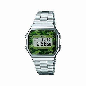 Relógio Casio Vintage Unissex - A168WEC-3DF