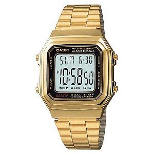 Relógio Casio Vintage Unissex - A178WGA-1ADF