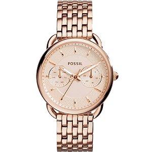 Relógio Fossil Ladies Tailor Rosé Feminino - ES3713/1JN