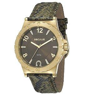 Relógio Seculus Feminino - 20124LPSCDR3