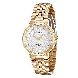 Relógio Seculus Long Life Feminino - 28748LPSVDA1