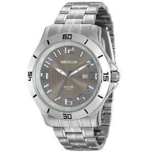 Relógio Seculus Long Life Masculino - 20338G0SVNA1