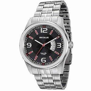 Relógio Seculus Long Life Masculino - 20400G0SVNA1
