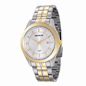 Relógio Seculus Long Life Masculino - 20407GPSVBA2