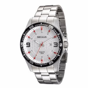 Relógio Seculus Long Life Masculino - 28763G0SVNA1