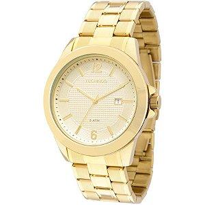 Relógio Technos Dourado Masculino Classic - 2115KNP/4X