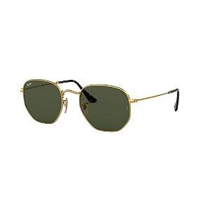 Óculos de Sol Ray-Ban Unissex Hexagonal - RB3548NL 001 54