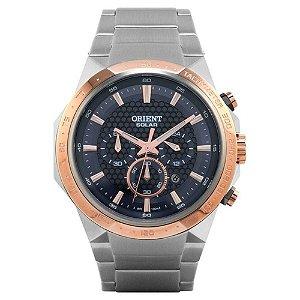 Relógio Orient Solar Masculino Tachymeter - MTSSC008 P1SX