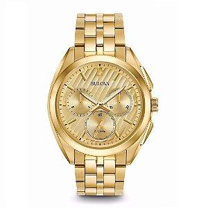 Relógio Bulova Curv Chronograph Watch Masculino - WB31890G