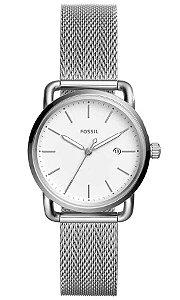 Relógio Fossil Ladies The Commuter Feminino - ES4331/1KN