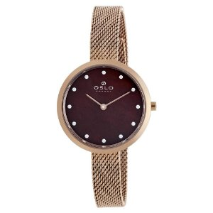 Relógio Oslo Slim Feminino - FRSSS9T0010 N1RX