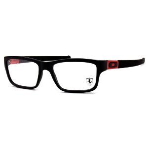 Armação Oakley Marshal Ferrari Black/Red - OX8034-0953