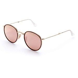 Óculos de Sol Ray-Ban Feminino Round RB3517 001/Z2