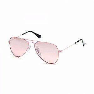 Óculos de Sol Ray-Ban Feminino Aviator Junior - RJ9506S 211/7E