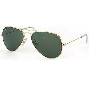 Óculos de Sol Ray-Ban Aviador Unissex - RB3026L L2846
