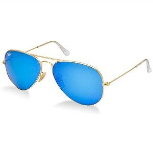 Óculos de Sol Ray-Ban - RB3025 AVIATOR LARGE METAL 112/4L 58