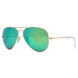 Óculos de Sol Ray-Ban Unissex  Aviador Espelhado - RB3025