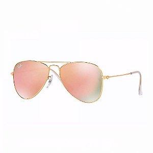 Óculos de Sol Ray-Ban Unissex Aviator Junior - RJ9506S 249/2Y
