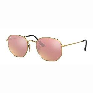 Óculos de Sol Ray-Ban Hexagonal  RB3548NL 001 Z2 54