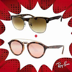 Kit Óculos de Sol Ray-Ban - RB4175 878/5157 e RB4257 60922Y53